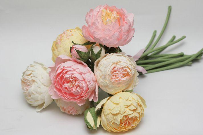 Paper Peony Wedding Flowers