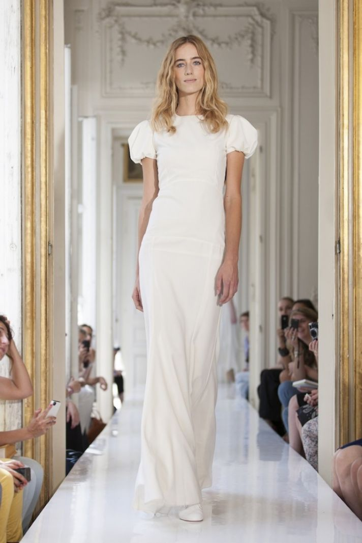 2013 Wedding Dress by Delphine Manivet French Bridal Adhemar
