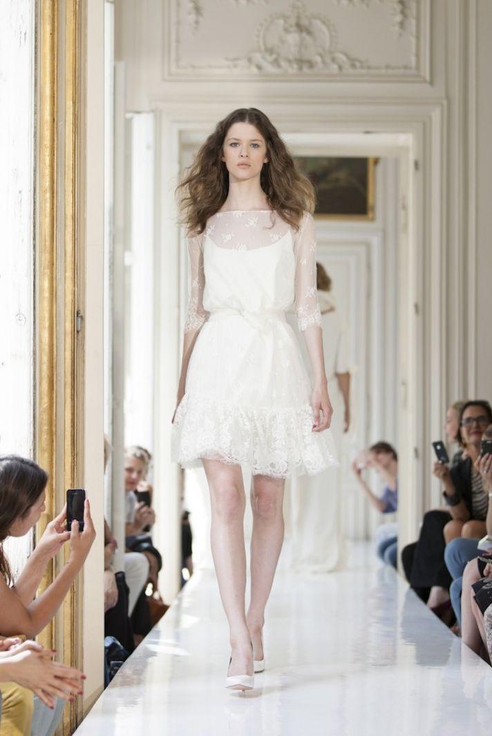 2013 Wedding Dress by Delphine Manivet French Bridal Lilian