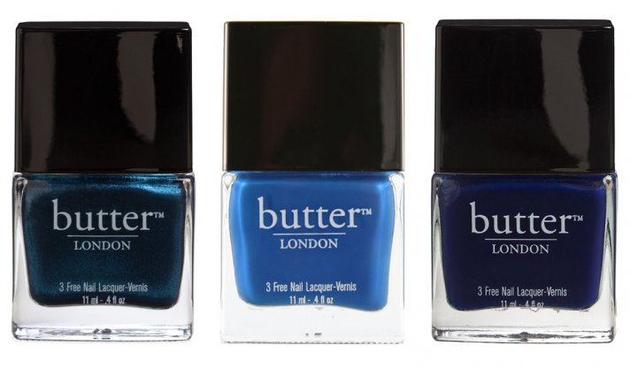 Blue Nail Polish for Brides
