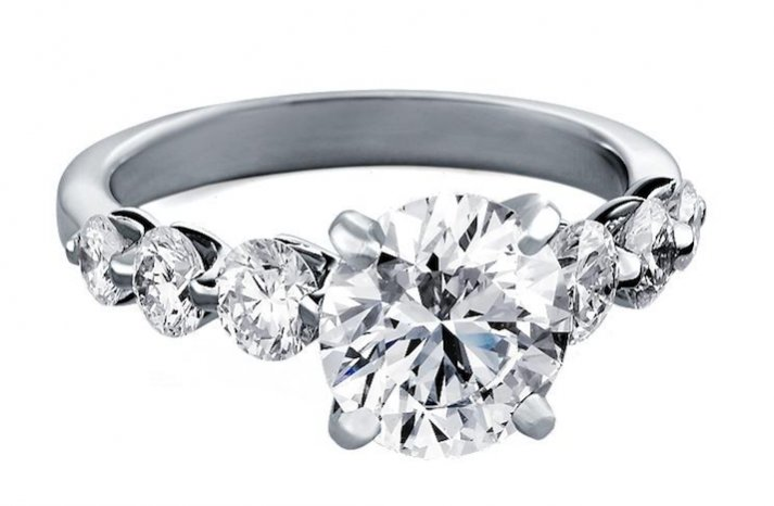 Blue Nile engagement rings Floating Diamond