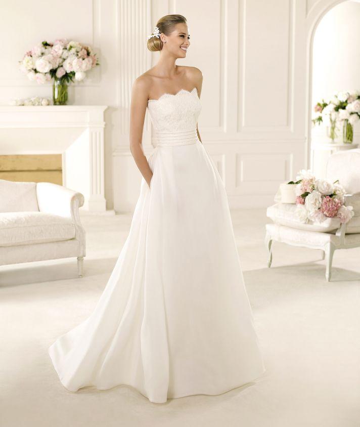 2013 Manuel Mota Wedding Dress for Pronovias