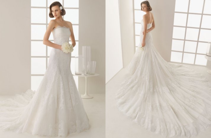 Two by Rosa Clara 2013 Wedding Dress Damasco