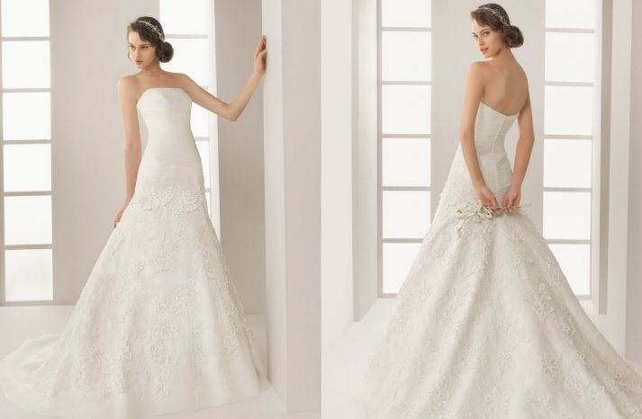 Two by Rosa Clara 2013 Wedding Dress Dario