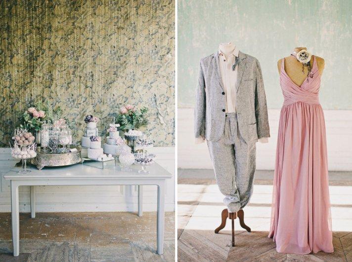 Romantic Wedding Color Inspiration Lavendar Pink Succulent Green