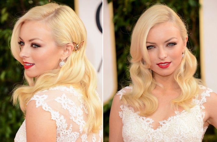 Retro Waves at 2013 Golden Globes