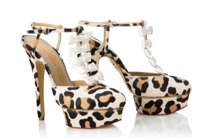 Animal Print Wedding Shoes by Charlotte Olympia