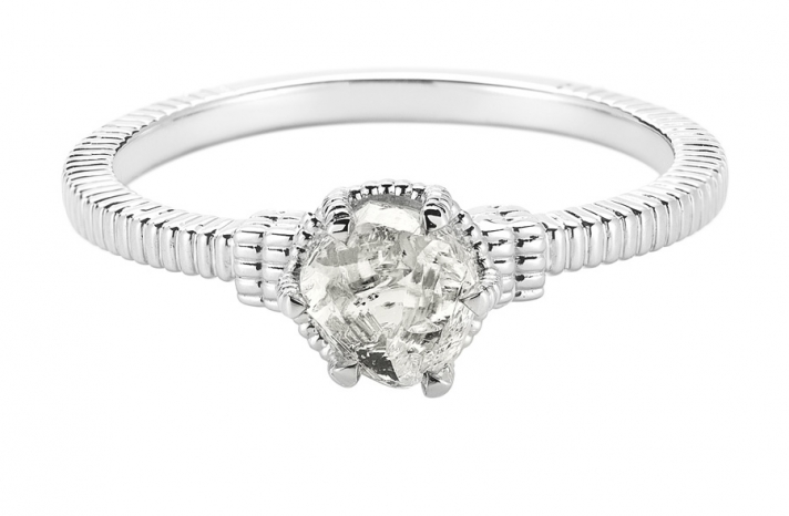 Unique Engagement Ring Diamond In The Rough 3D285 0 94 A
