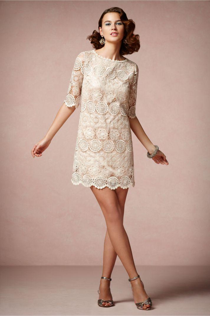 Lace Crochet LWD for Brides