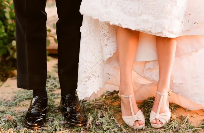 Wedding Shoe Porn by Elizabeth Messina
