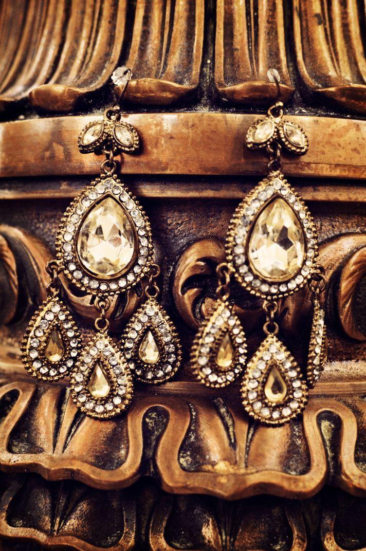Vintage Inspired Bridal Earrings Chandeliers