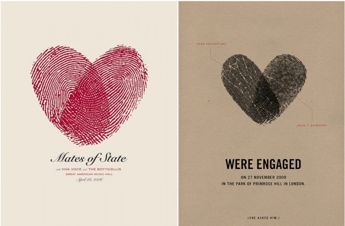 awesome engagement announcements pre wedding stationery 1