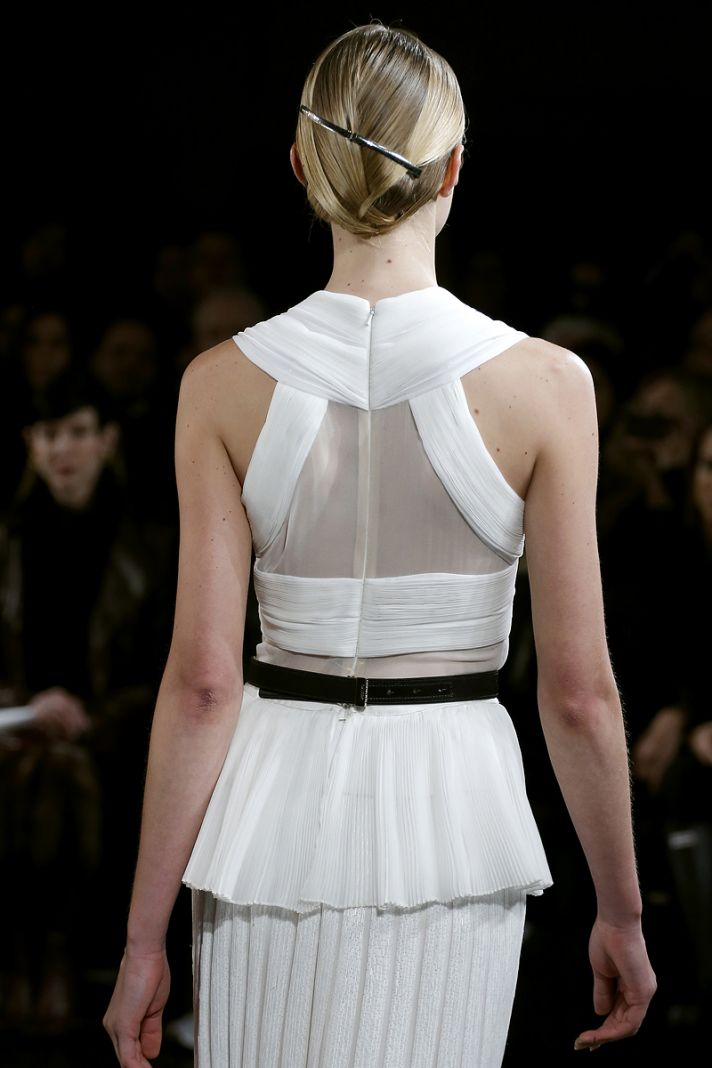 Bridal Updo from Jason Wu Catwalk Origami Twist