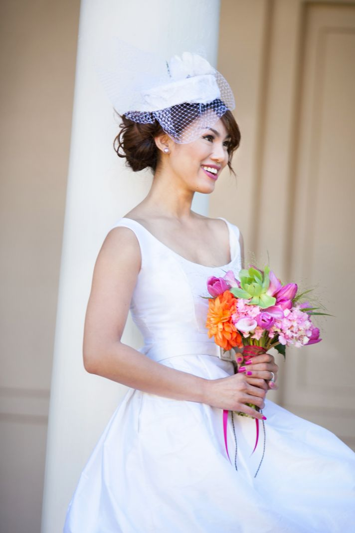 Wedding Style Inspiration Classic Tropical Bride 1