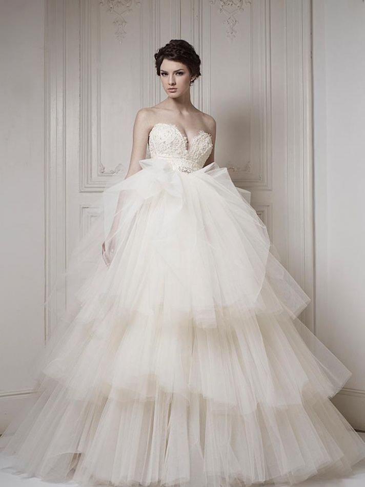 20 breathtaking 2013 bridal gowns by ersa atelier cheap for Romanian wedding dress designer