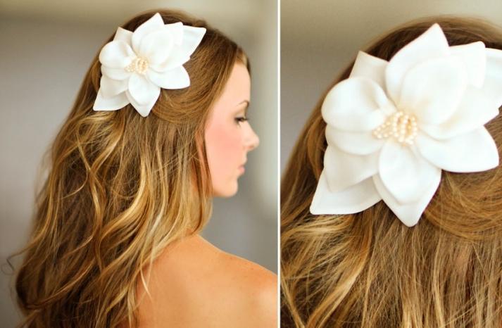 Romantic wedding hair accessories by Alice Padrul 5