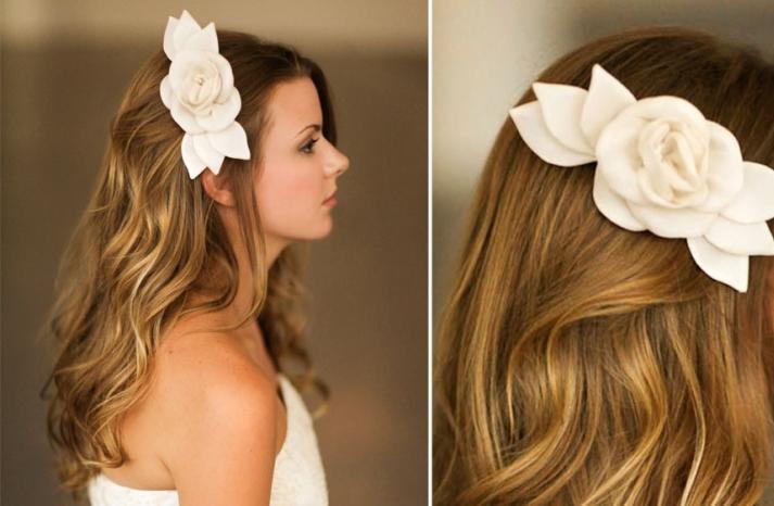 Romantic wedding hair accessories by Alice Padrul 6
