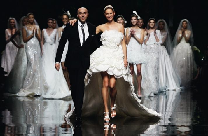 Креативные свадебные платья фото 8