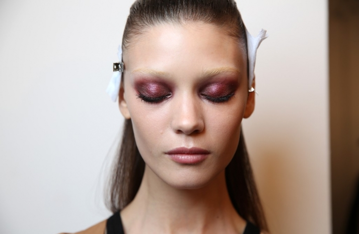 Wedding Makeup Inspiration off the catwalk Milan Fashion Week 4