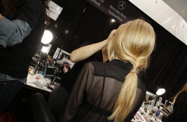 rachel zoe low twisted ponytail wedding hair ideas