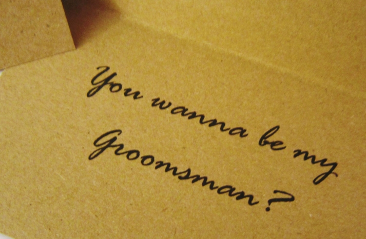 want to be my groomsmen card