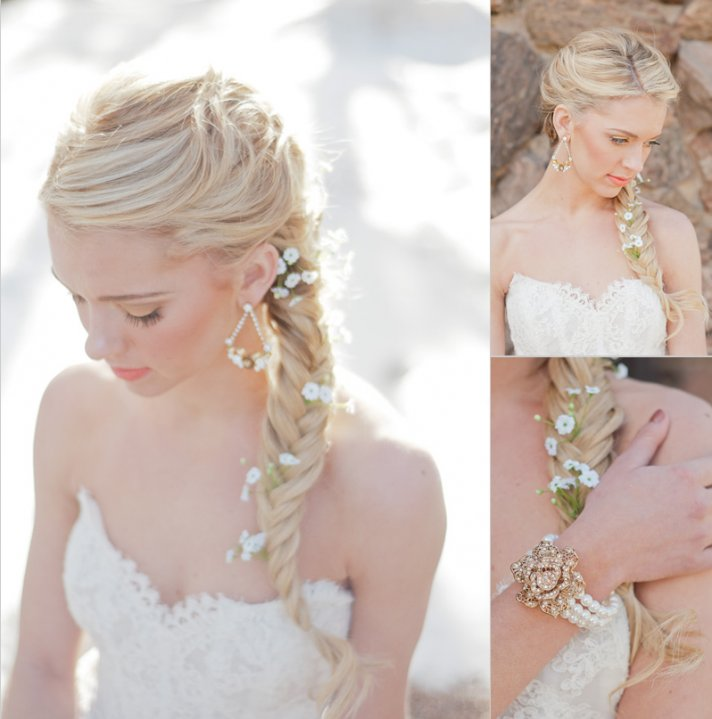 low-braided-wedding-ponytail-with-babys-
