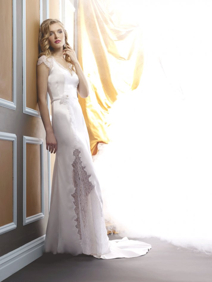 Wedding dress by Birnbaum and Bullock 2013 Bridal Paloma