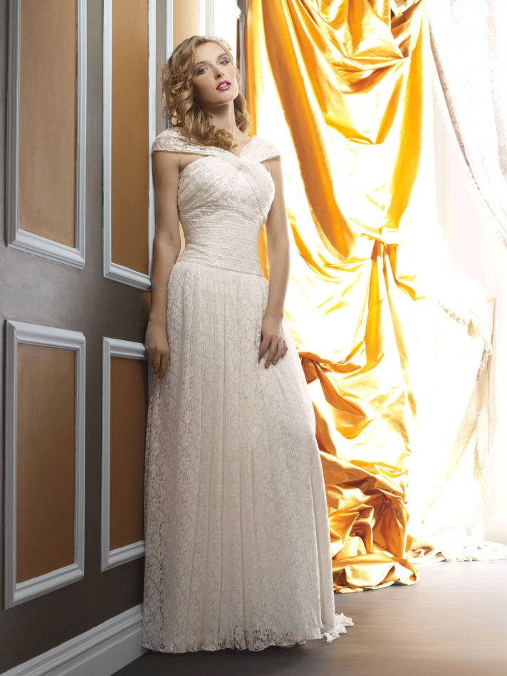 Wedding dress by Birnbaum and Bullock 2013 Bridal Stella