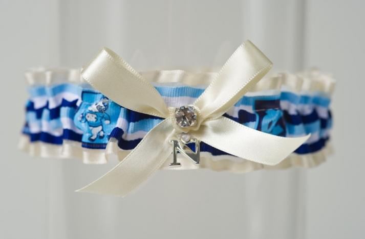 March Madness Wedding Ideas Bridal Garter