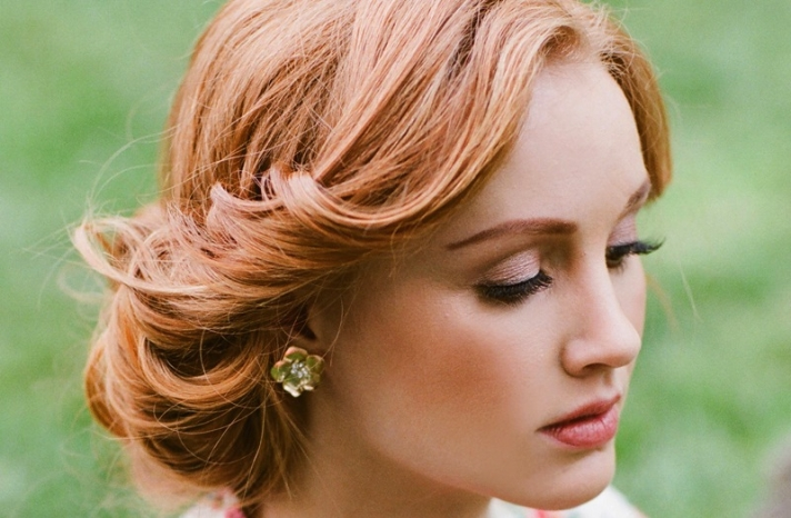 Wedding hair and makeup inspiration from Ruche 5