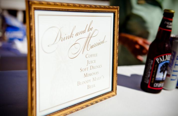 Boozy Brunch Wedding Reception During the Day