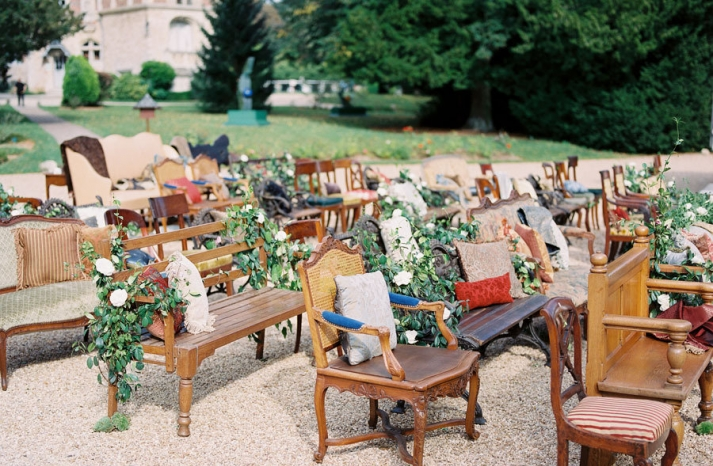 Plenty of Seating for Outdoor Weddings