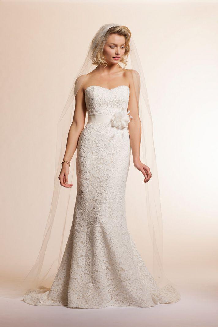 2013 wedding dress by Amy Kuschel Bridal Lavender