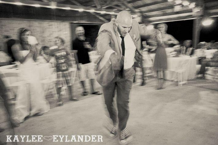 Its a Dance Off wedding reception fun