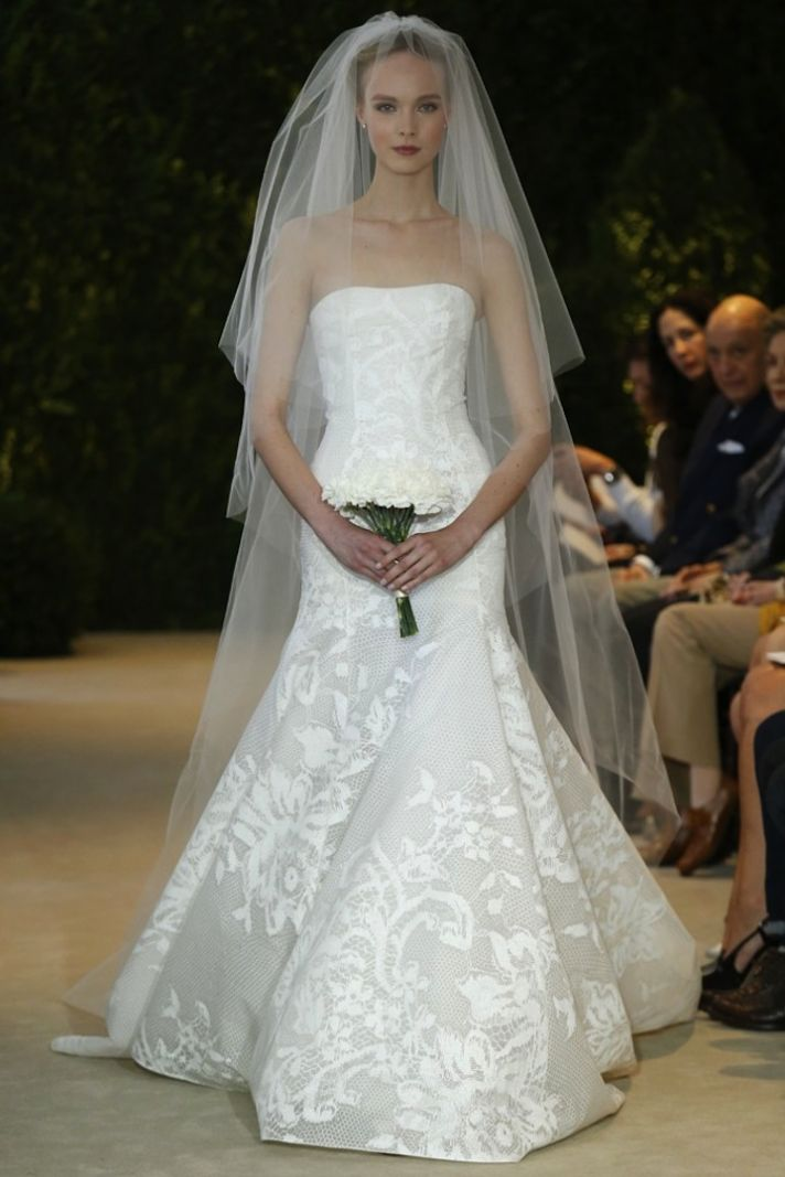 Carolina Herrera Wedding Dress Spring 2014 Bridal 1