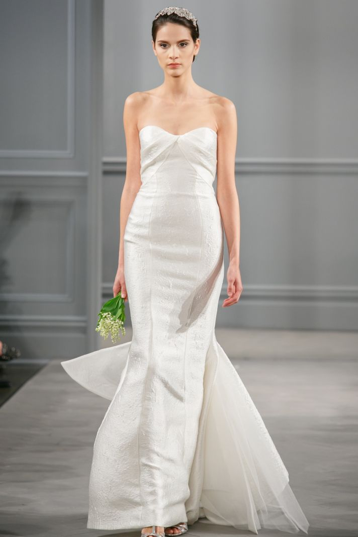 Spring 2014 Wedding Dress Monique Lhuillier Bridal Isla