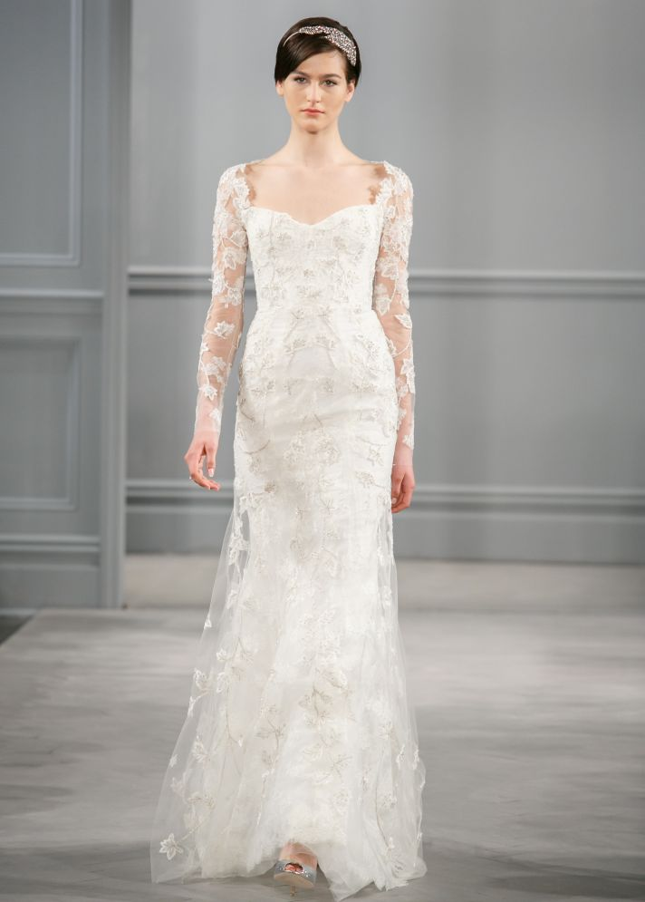 Spring 2014 Wedding Dress Monique Lhuillier Bridal Leaticia 2