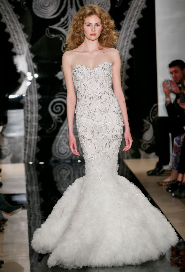 Reem Acra Wedding Dress Spring 2014 Bridal Isis