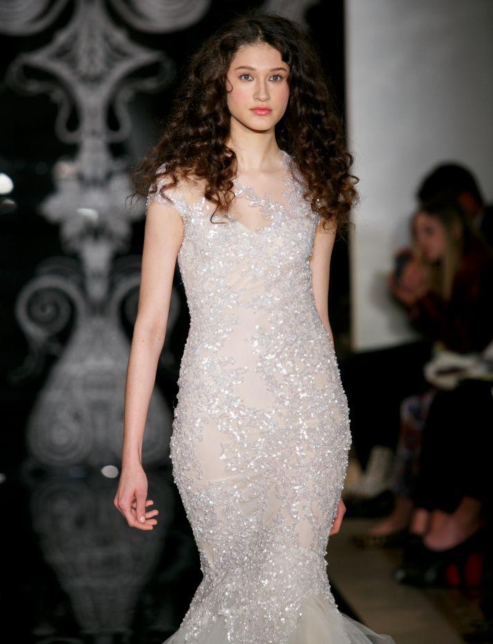 Reem Acra Wedding Dress Spring 2014 Bridal Nastasia Ilona