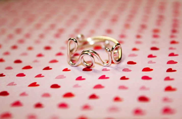 Love ring for mothers day