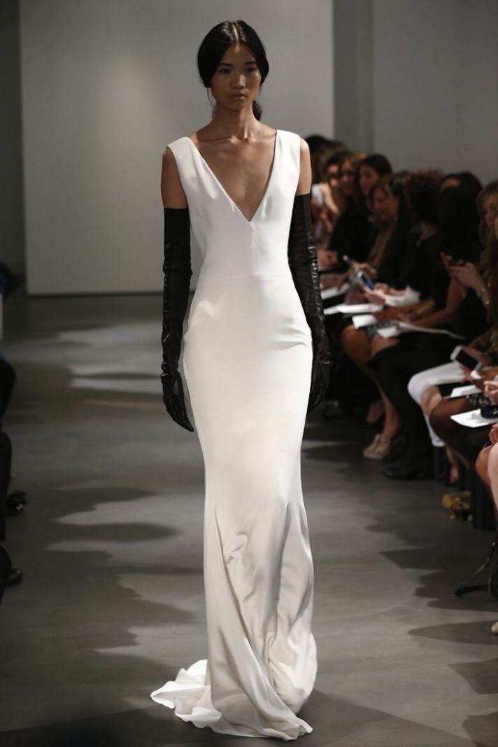 The best of ny bridal markets spring summer 2014 onewed for Vera wang style wedding dress