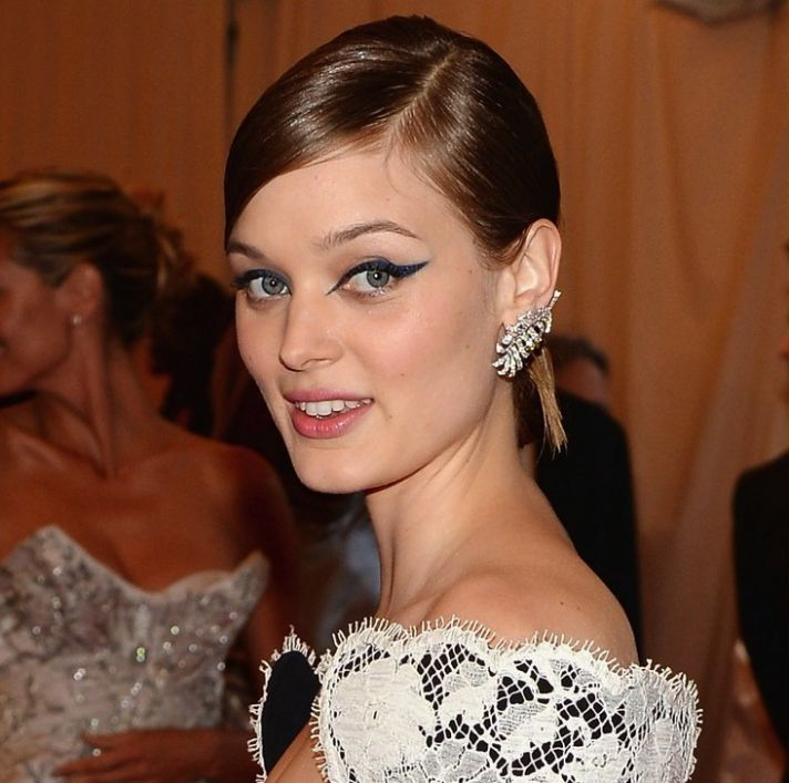 Met Ball 2013 wedding makeup inspiration hot pink lids