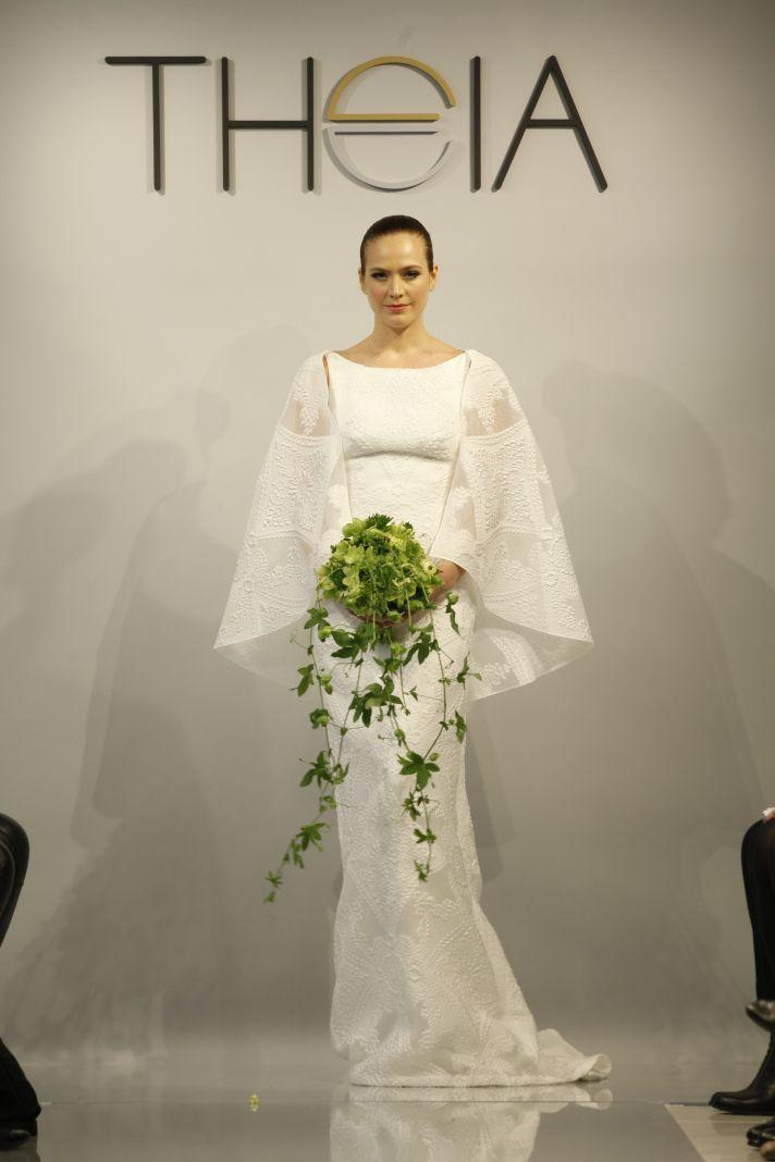 Theia Spring2014 wedding dress bridal gown Hannah Marie