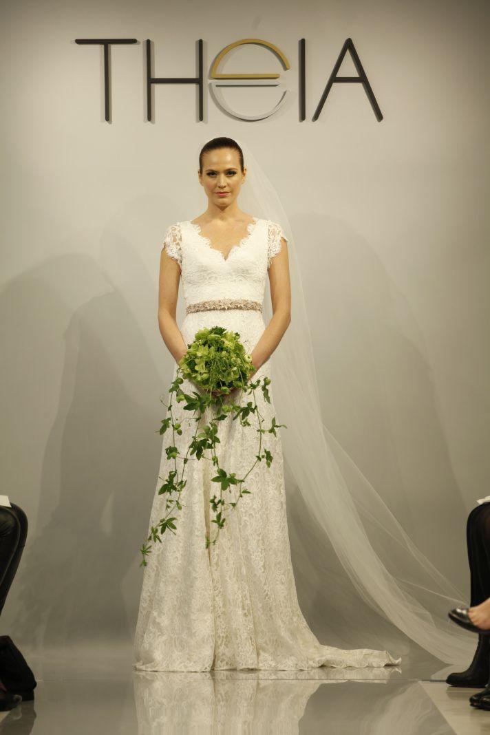Theia Spring2014 wedding dress bridal gown Louise