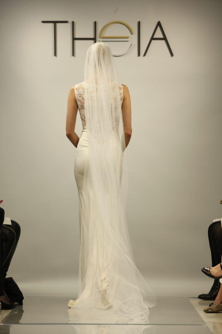 Theia Spring2014 wedding dress bridal gown Taylor