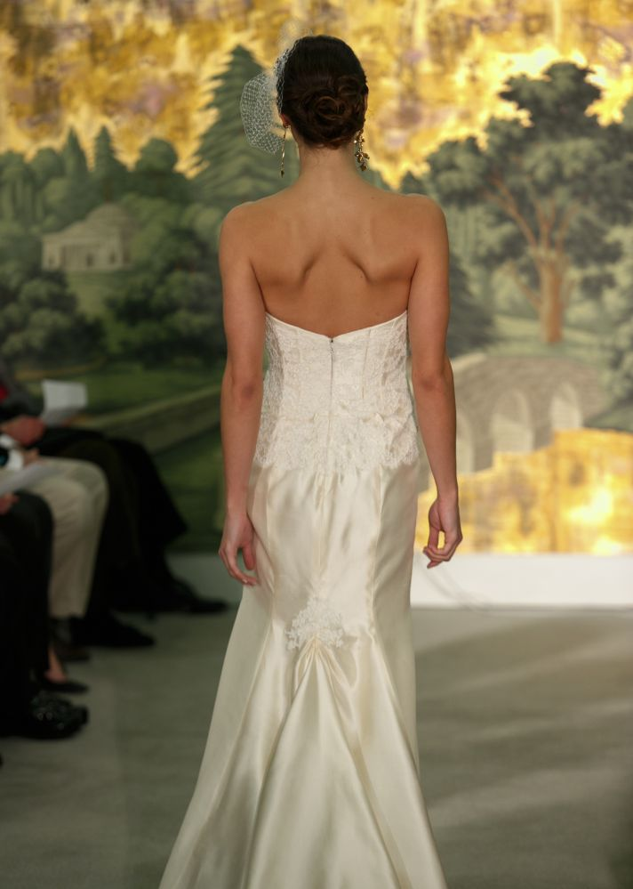 Wedding dress by Anne Barge Spring 2014 Bridal Morelle