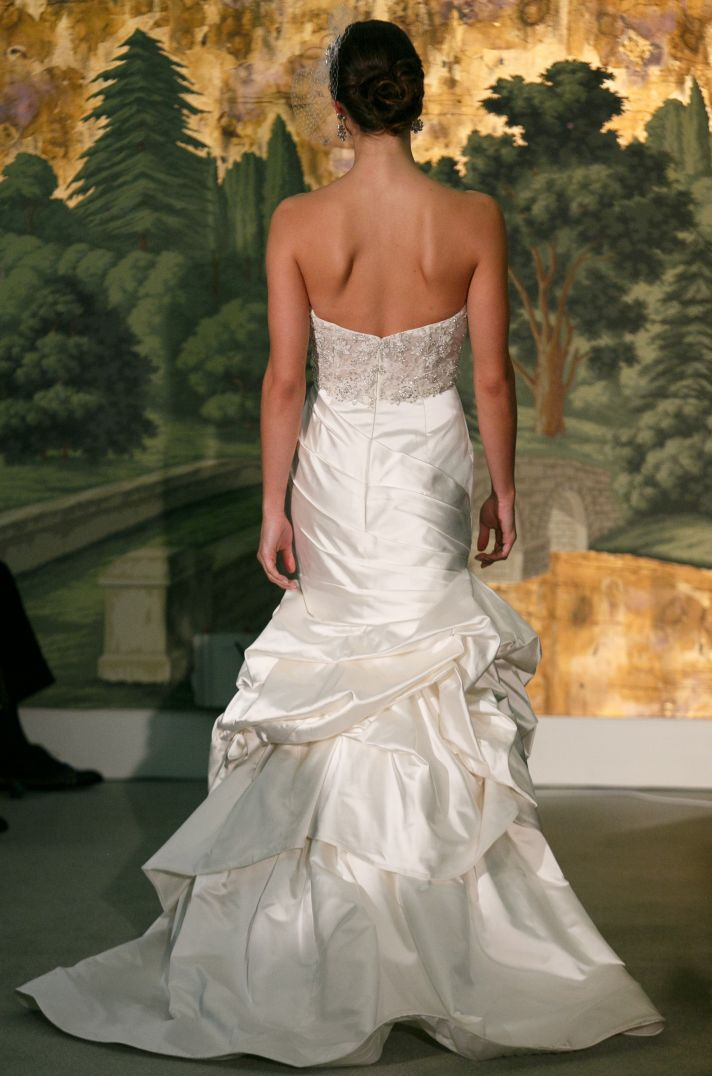Wedding dress by Anne Barge Spring 2014 Bridal Dahlia