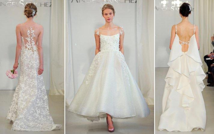 Angel Sanchez Spring 2014 Bridal Wedding Dresses