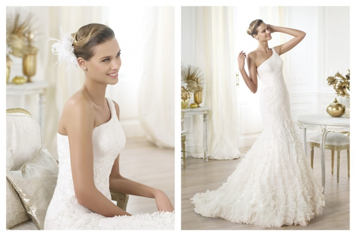 Pronovias wedding dress pre 2014 bridal Dreams collection Lexandra