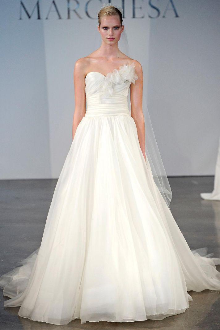 Marchesa wedding dress Spring 2014 bridal 1